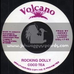 """Volcano-7""""-Rocking Dolly / Coco Tea"""