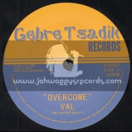 "Gebre Tsadik Records-7""-Overcome / Val + Ottering Speach / Mc Trooper"