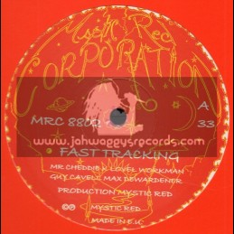 """Mystic Red Corperation-10""""-Fast Tracking + Track And Feild / Mystic Red"""