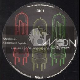 """Moonshine Recordings Double-12""""-Sekkleman / Lightman Ft. Baptiste"""