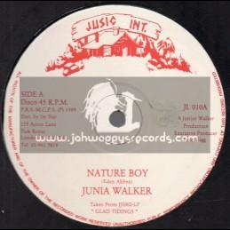 "Jusic Int-12""-Nature Boy / Junia Walker + Sealed With A Kiss / Junia Walker"