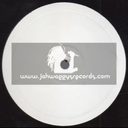 "White Label - Jah Warrior-10""- Satan Bites The Dust / Ranking Joe + Things Better Now / Lutan Fyah - 2007"