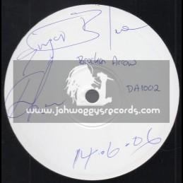 "White Label - Dubateers-10""- Broken Arrow / Singer Blue + Jah Jah Riddim / Singer Blue"