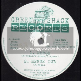 "Green Shack Records-12""-Merge / P. Regis + Offkey Babylon / P. Regis"