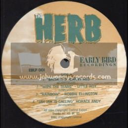 Early Bird Recordings-Lp-The Herb / Various Artist