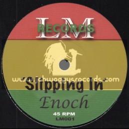 "L M Records-7""-Slipping In / Enoch"
