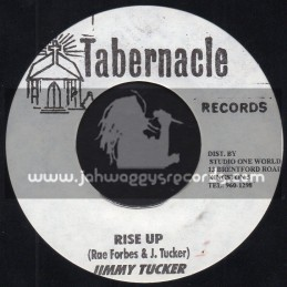 """Tabernacle Records-7""""-Rise Up / Jimmy Tucker"""