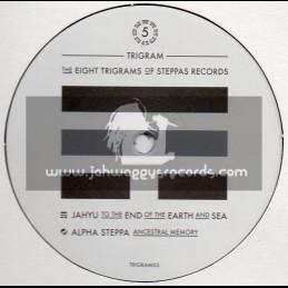 "Steppas Records-10""-The Eight Trigrams Of Steppas Records 5 / Jahyu & Alpha Steppa"