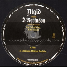 "Whodemsound Records-10""-War / Digid Meets J. Robinson Feat. Jah Mirikle & Ms Sunrize"
