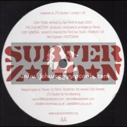 """SubverZion-12""""-Tribute Remix / Zion Train & Dub Factory - 2003"""