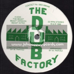 """The Dub Factory-12""""-The Beast / The Dub Factory + The Message / The Dub Factory"""