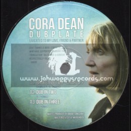 "Cora Dean Dubplate-10""-Test Press-Broken In Two / Charlie P - Feat. Conscious Sounds & Partial Records"