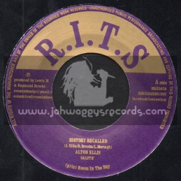 "R.I.T.S-7""-History Recalled / Alton Ellis + Hunger For Your Love / Gregory Isaacs"