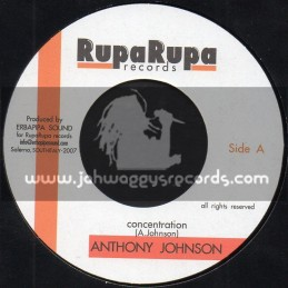 """Rupa Rupa Records-7""""-Concentration / Anthony Johnson + Erbapipa Sound And Paranza Vibes"""
