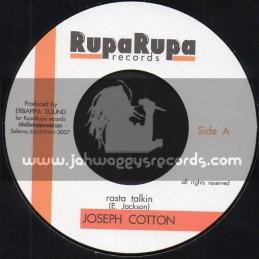 "Rupa Rupa Records-7""-Rasta Talkin / Joseph Cotton"