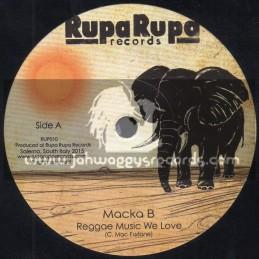"Rupa Rupa Records-7""-Reggae Music We Love / Macka B"
