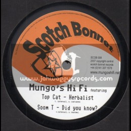 "Scotch Bonnet-10""-Mary Jane Ep 1 / Mungos Hi Fi - Various Artist"