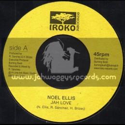 "Iroko Records-7""-Jah Love / Noel Ellis"