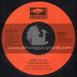 """Iroko Records-7""""-Reggae Music / Noel Ellis"""