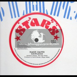 "Stars-12""-Make Faith / Knowledge + Peace And Love / Tappa Zukie"