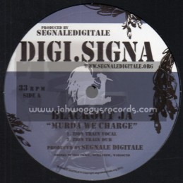 """Digi. Signa-12""""-Murda We Charge / Blackout JA + Turbulence We Charge / Turbulence"""