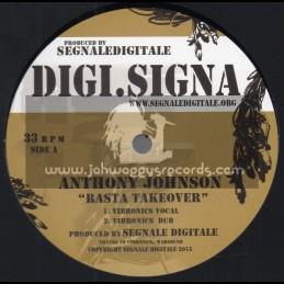 "Digi. Signa-12""-Rasta Take Over / Anthony Johnson - Vibronics"