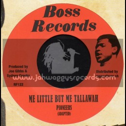 "Boss Records-7""-Mi Little But Me Tallawah / Pioneers + Who The Cap Fit / Pioneers"