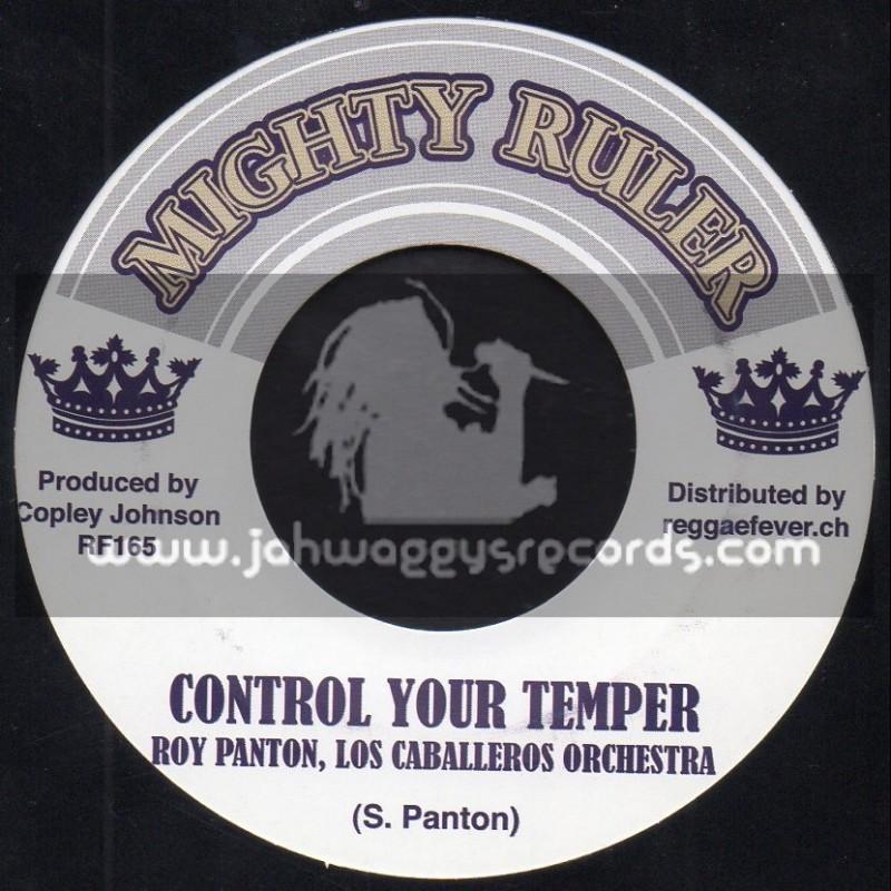 "Mighty Ruler-7""-Control Your Temper,Roy Panton & Los Caballeros Orchestra+Make Yourself Comfortable/Los Caballeros Orchestra"