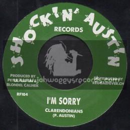 "Shockin Austin Records-7""-I m Sorry / Clarendonians + Reggae Reggae All Night Long / Tartans"