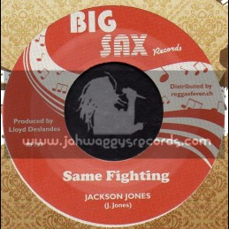 "Big Sax Records-7""-Same Fighting / Jackson Jones"