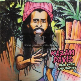 "Tiger Records-7""-Ham, Shem And Japhet / Kazam Davis"