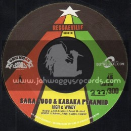 "Oneness Records-7""-High And Windy / Sara Lugo And Kabaka Pyramid + Love Mi Fe Me / Skarra Mucci And Kiprich"