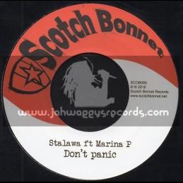 """Scotch Bonnet-7""""-Dont Panic / Stalawa Feat. Marina P + Watchy Watchy / Stalawa Feat. Dignitary Stylish"""