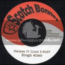 """Scotch Bonnet-7""""-Rough Winer / Stalawa Feat. Lloyd Stiff"""