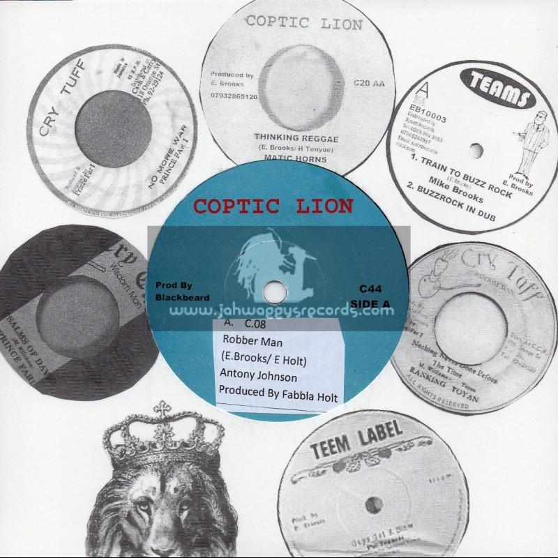"Coptic Lion-7""-Robber Man / Anthony Johnson + Take You To Paris / E. Brooks & King David"