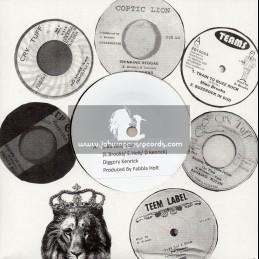 "Coptic Lion-7""-Wild Side / Diggory Kenrick"