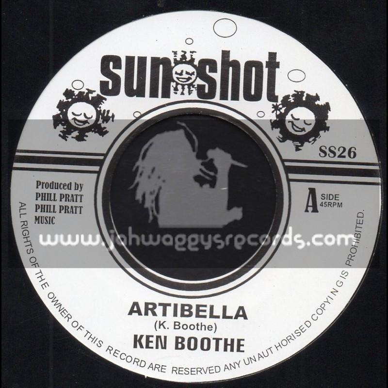 "Sun Shot-7""-Artibella / Ken Boothe"