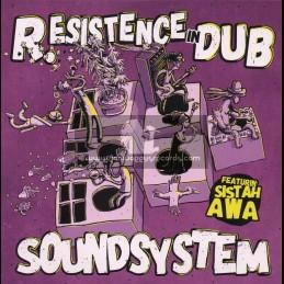 "R.esistence Records-7""-Sound System / Sistah Awa"