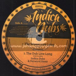 "Indica Dubs-10""-The Wisest Live Long / Danman"