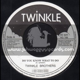 """Twinkle Brothers-7""""-Do You Know What To Do / Twinkle Brothers"""