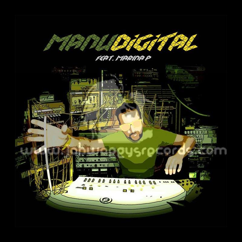 """Digital Lab Vol 3-12""""-ManuDigital Feat. Marina P"""