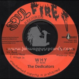"""Soul Fire Records-7""""-Why / The Dedicators"""