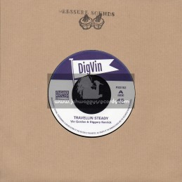 "Digvin-7""-Travellin Steady / Vin Gordon And Diggory Kenrick"