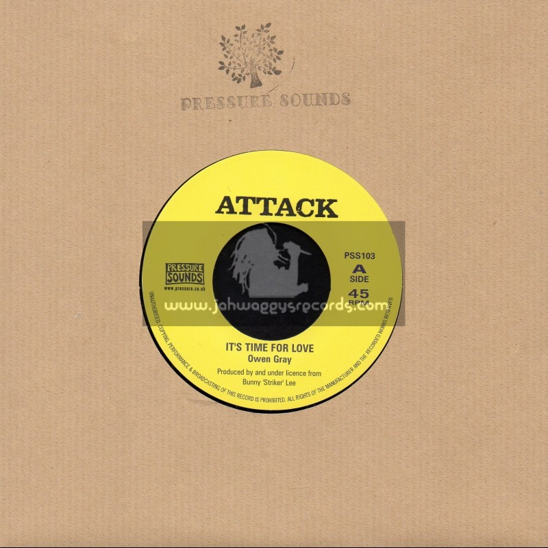 """Attack-7""""-Its Time For Love / Owen Gray"""