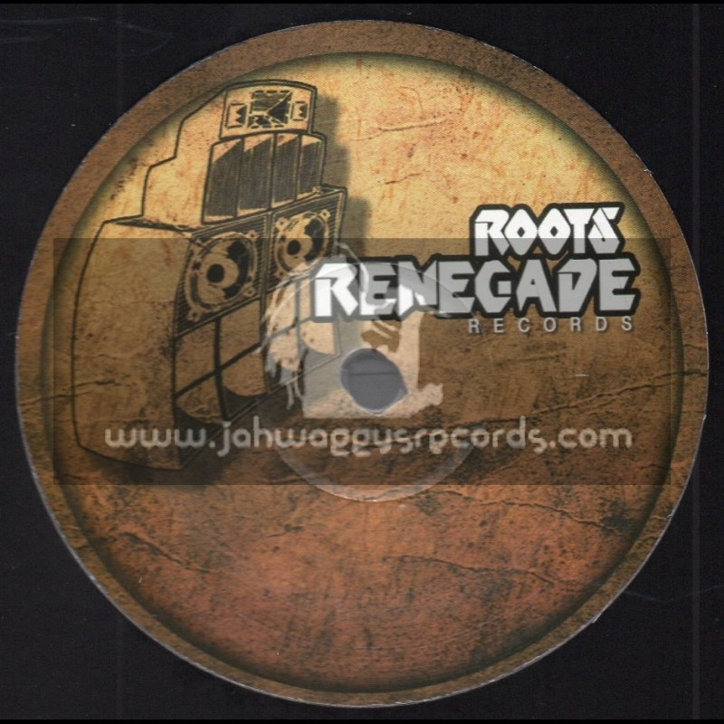 """Roots Renegade Records-10""""-Silver And Gold / Cornell Cambell + Dance Jah Music / Earl Sixteen"""