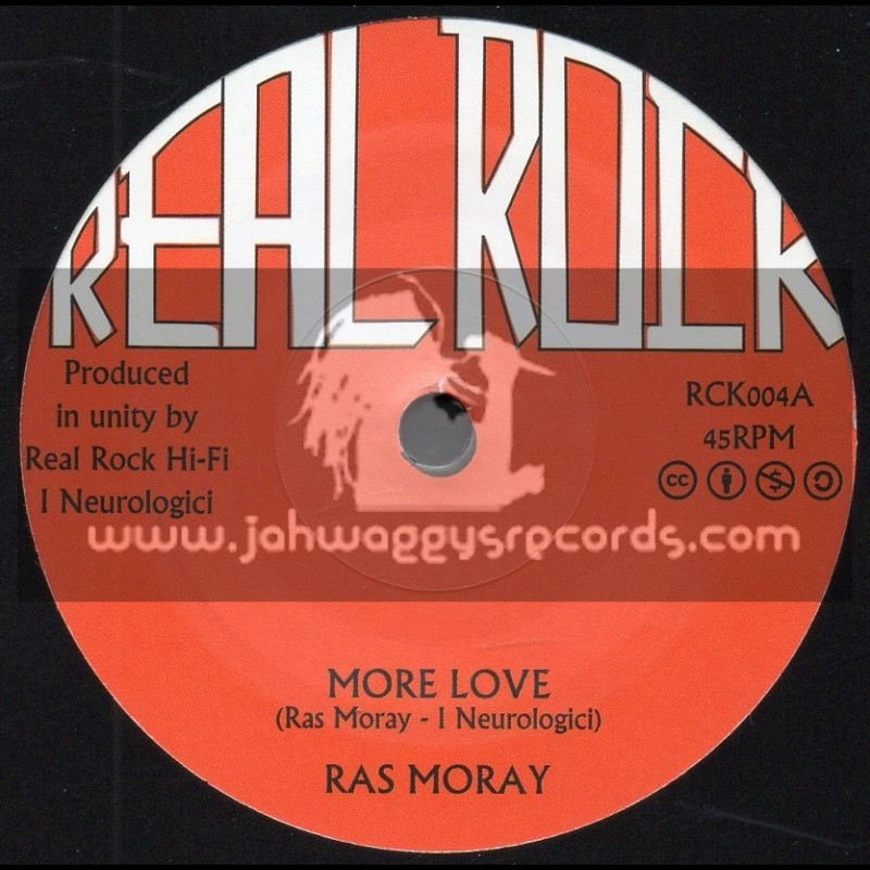 "Real Rock-7""-More Love / Ras Moray"