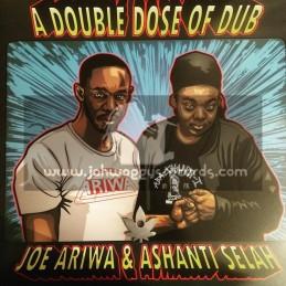 Ariwa-Lp-A Double Dose Of Dub - Joe Ariwa And Ashanti Selah