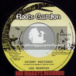 "ROOTS GARDEN-7""-STORMY WEATHERS / JAH MARNYAH"