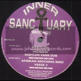 "Inner Sanctuary Records-10""-Babylon / Linval Thompson"