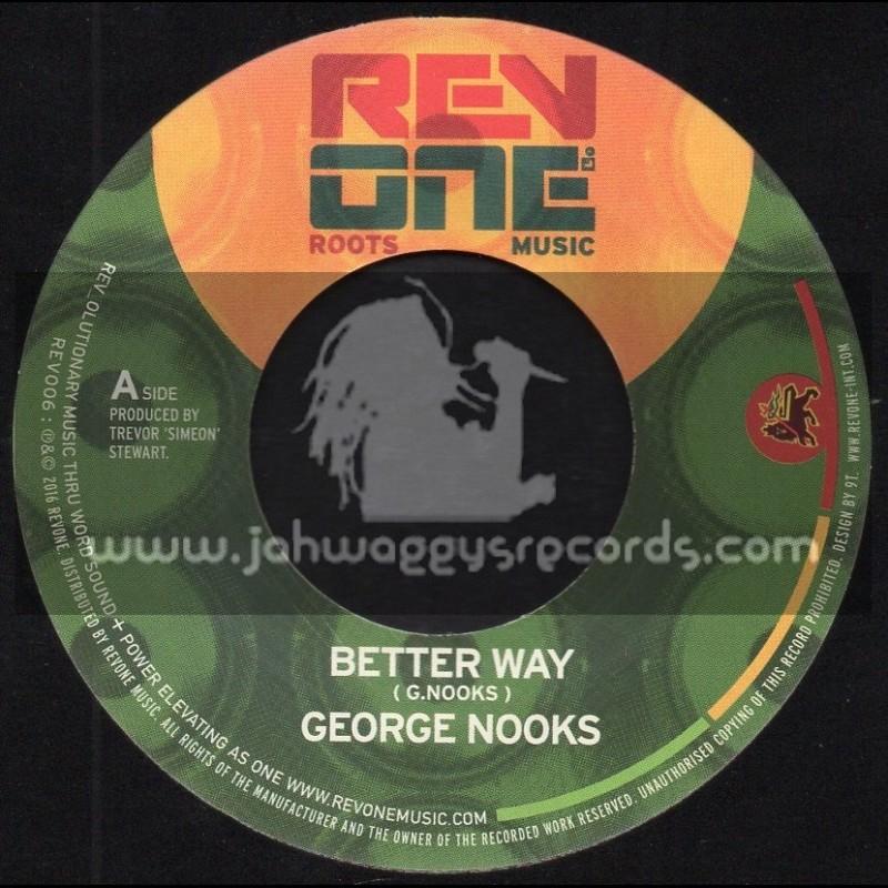 "Rev One Music-7""-Better Way / George Nooks"